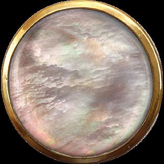 Wonderful Antique Paris Back Abalone Pearl Button