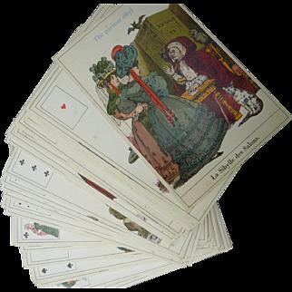 Vintage La Sibylle Tarot Cards