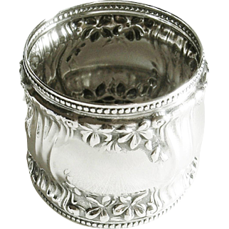 Alvin Sterling Silver Napkin Ring 2210 Rare