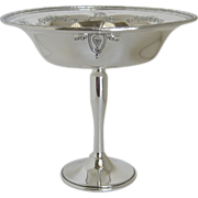 Whiting Sterling Silver Compote Bowl