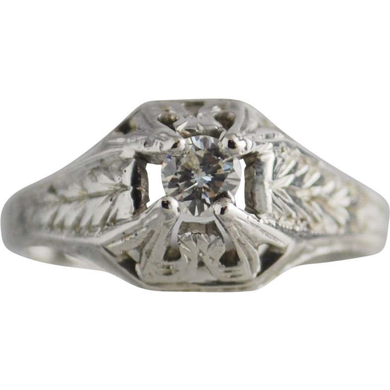 reserved antique edwardian 1901 1920 engagement ring
