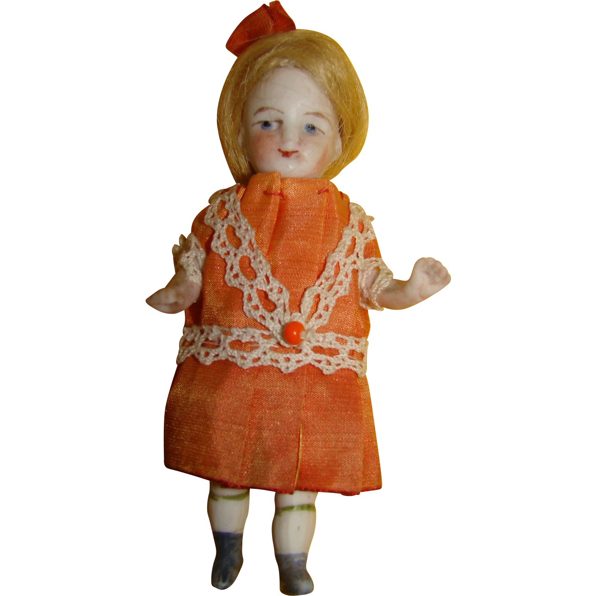 Nice little all bisque doll