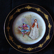 1900 Attractive french plate