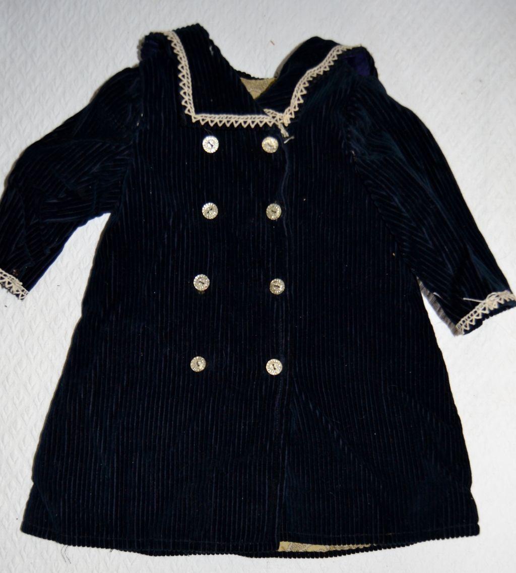 French antique bébé Jumeau coat