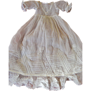"Jumeau 1900 christening gown for a 17""/18"" doll"