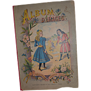 Pretty little girls book circa 1900