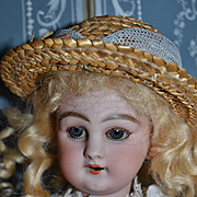 Adorable cabinet size doll for the french market