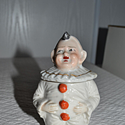 1900 Grotesque mustard pot
