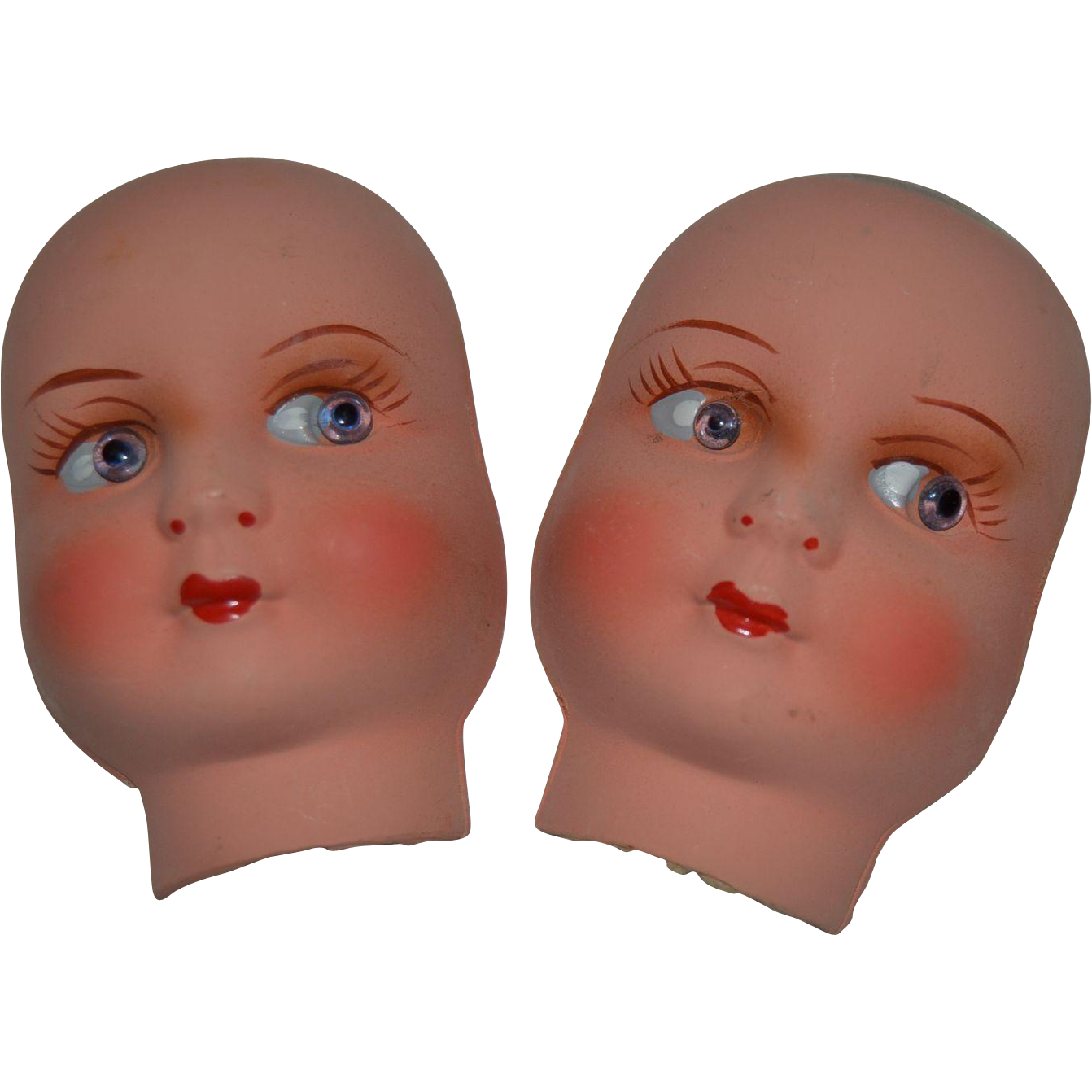 Never used 2 faces of French little boudoir doll