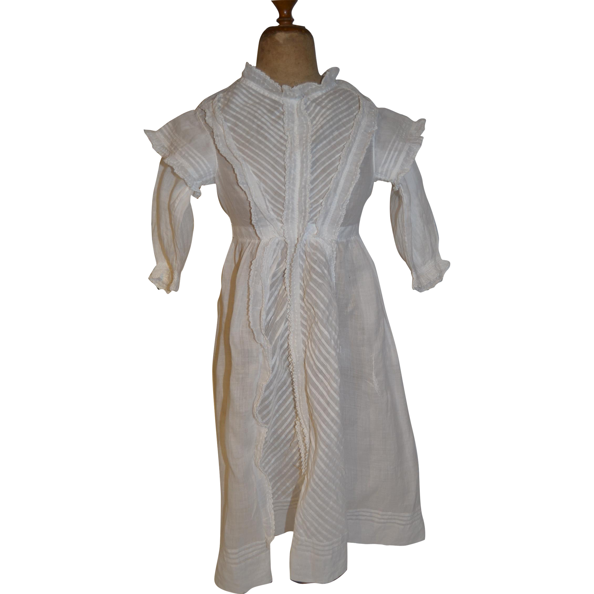 Baptist 1880 dress for your wax doll