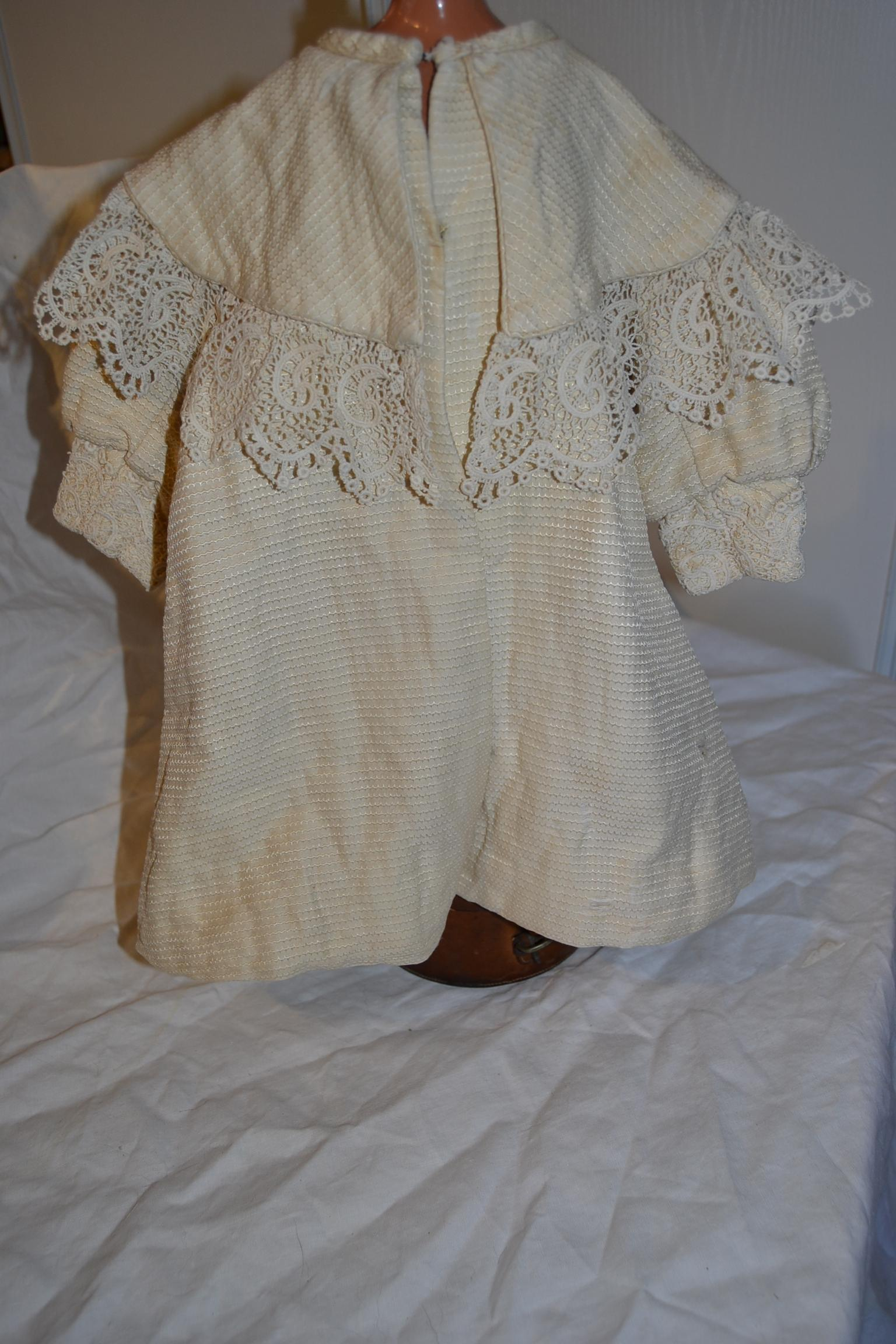 Gorgeous original doll's coat from 1890