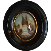 Souvenir 19th century air art frame