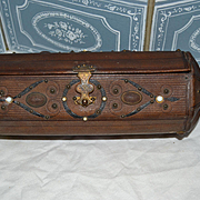 Nice 1870 French sewing box