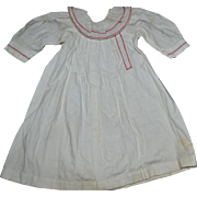 1890 lovely nightdress for french bebe like Jumeau
