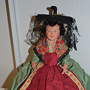 French souvenir doll