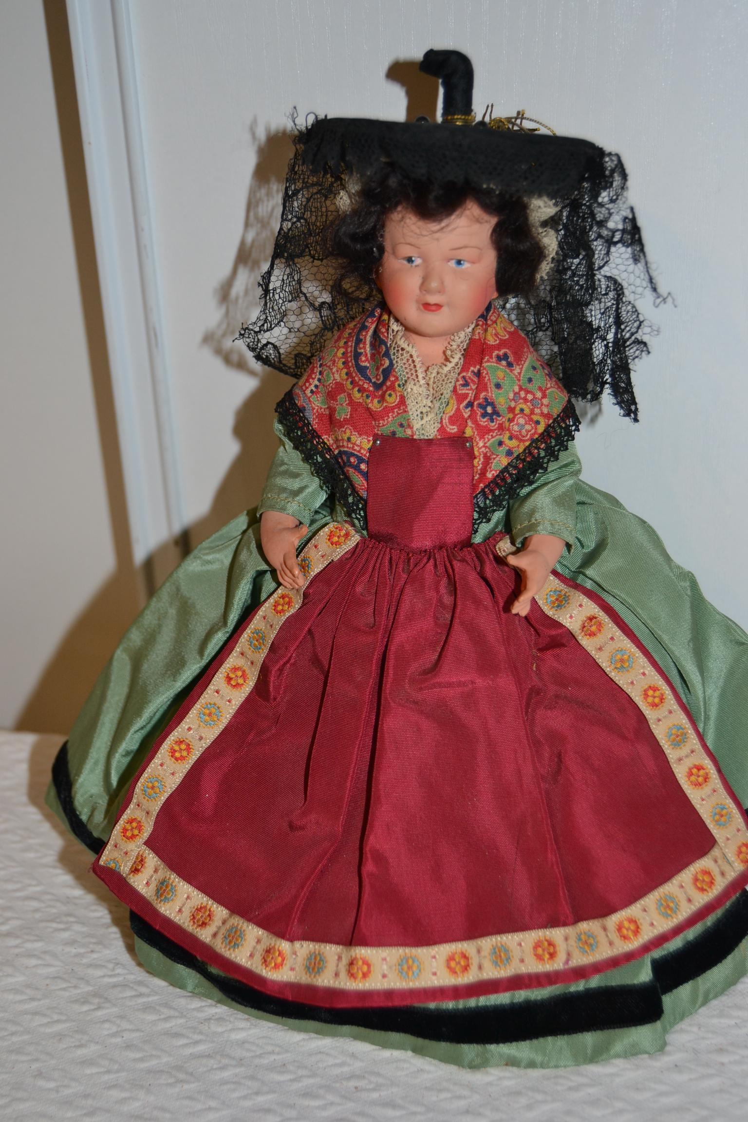 French souvenir doll