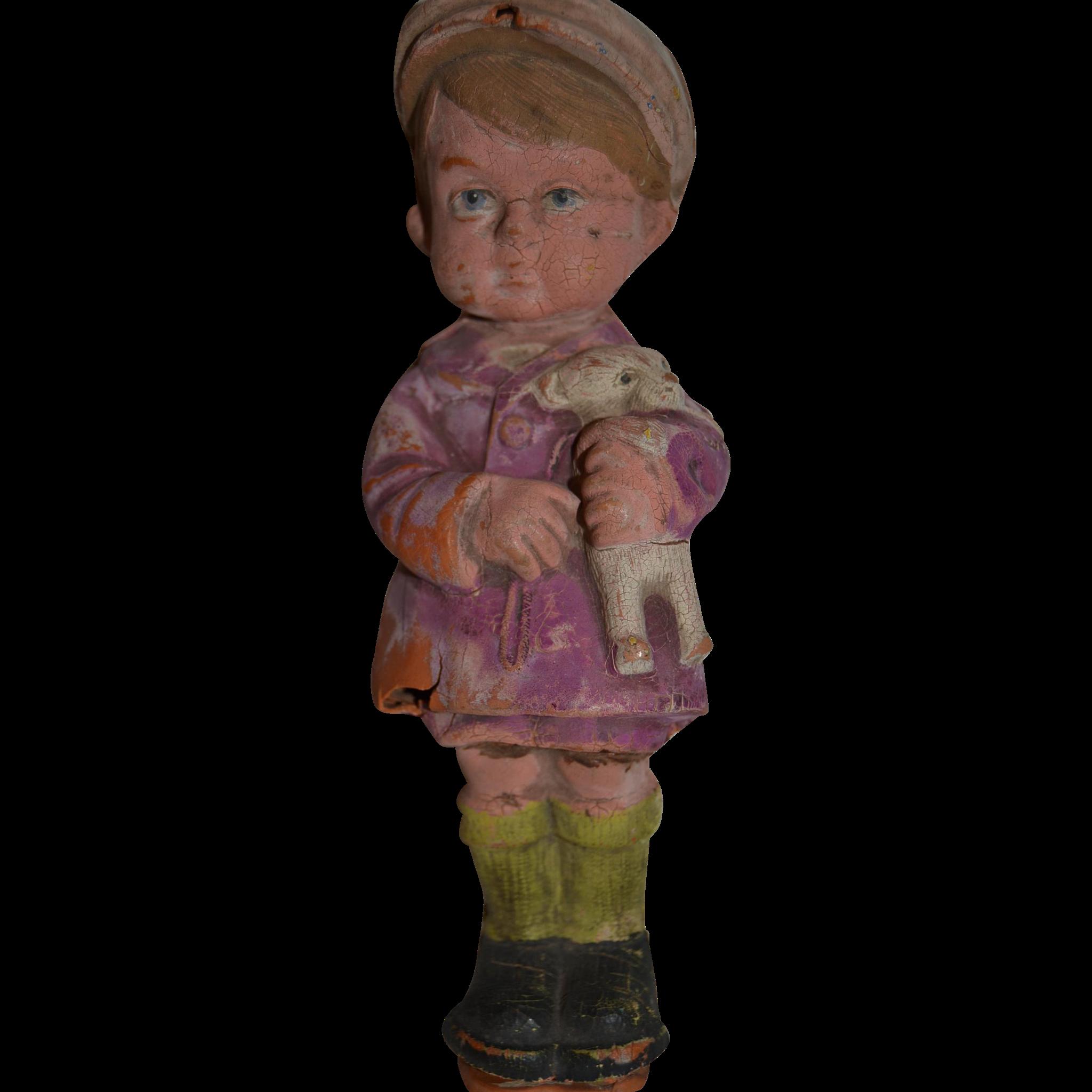 Rare 1900 rubber doll