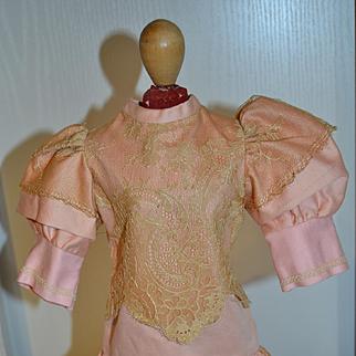 Lovely pink cotton dress