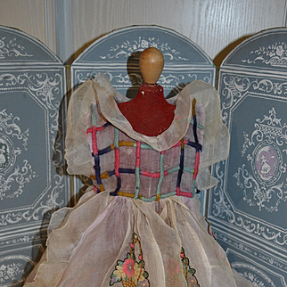 Amazing 1930 dress for your lenci type doll