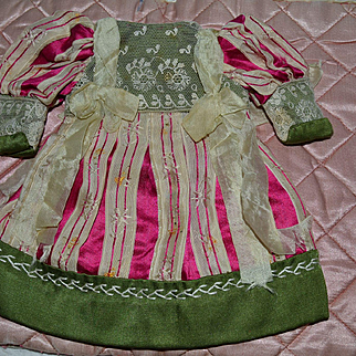 Lovely old dress for your little doll