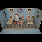 Rare French nursery room