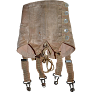 Attractive French factory doll's corset