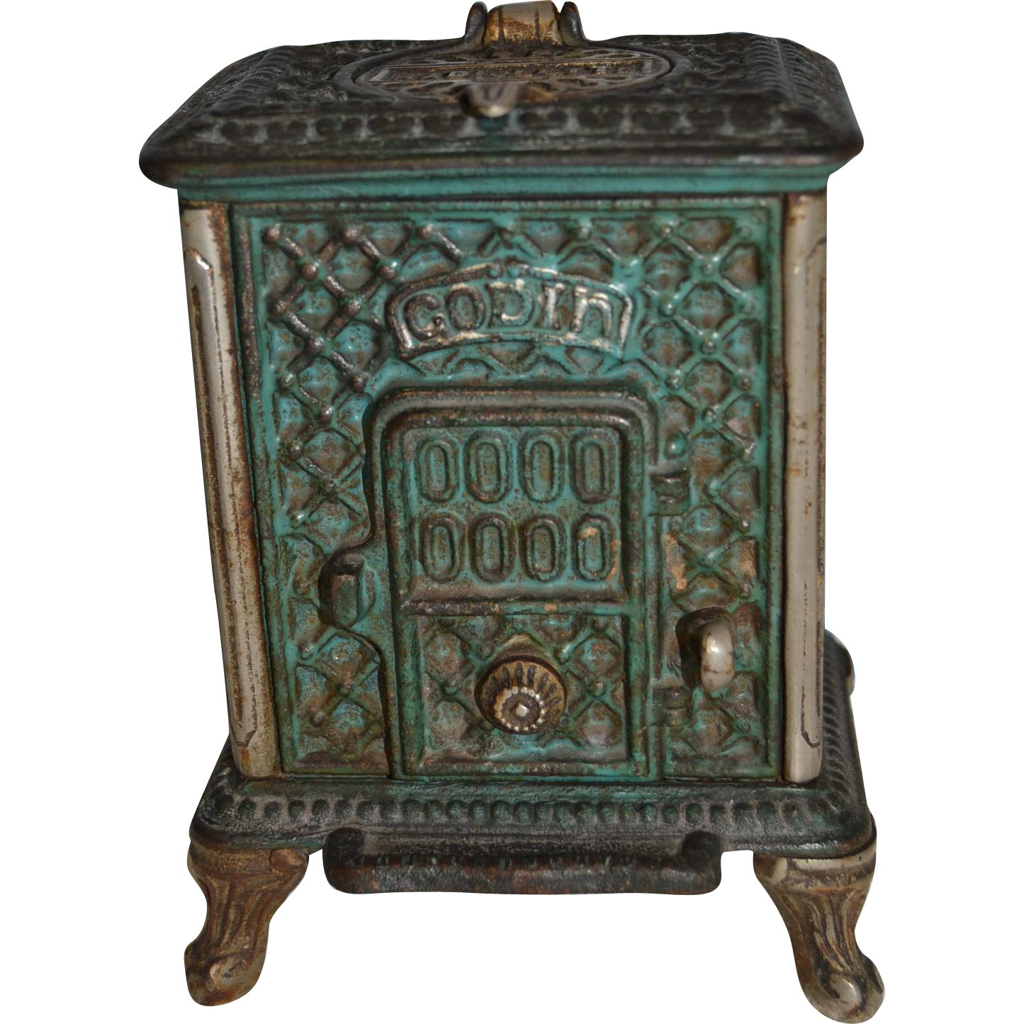 French antique diminutif of stove
