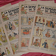 La semaine de suzette de 1923 4 newspaper