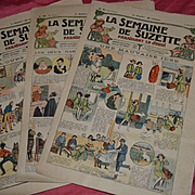 La semaine de suzette de 1923 3 newspaper