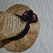 Pretty French straw hat