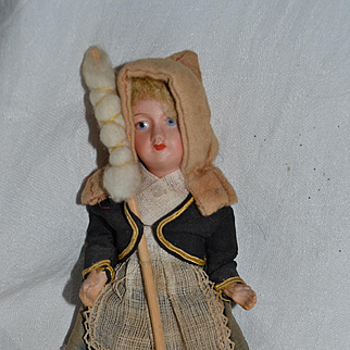 Nice antique French country doll