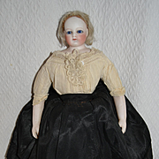 Antique 1860 French Fashion doll with original outfit