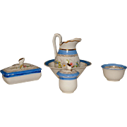 French 1880 toilette set for your doll