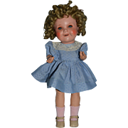 Rare composition doll Shirley temple from Germany