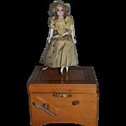 Giselle French dancing girl circa 1880 little automaton
