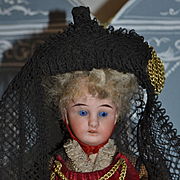 Wonderful all original bressane doll from france 1900