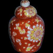 Gabriel Fourmaintraux covert vase imitating china vase