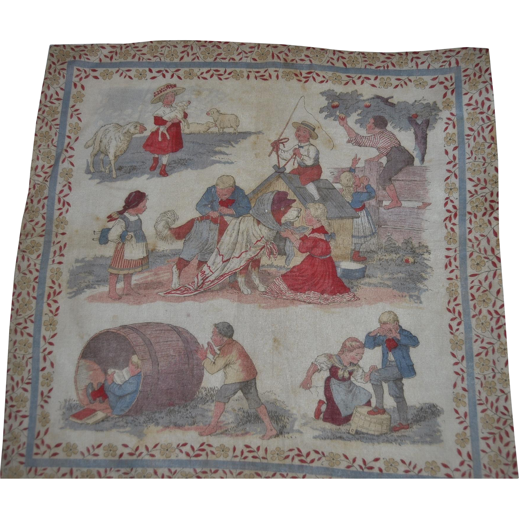 Early 1900 child's handkerchief
