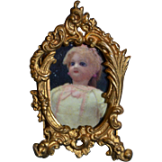 Charming antique miniature frame
