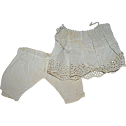 Undergarment for French bebe