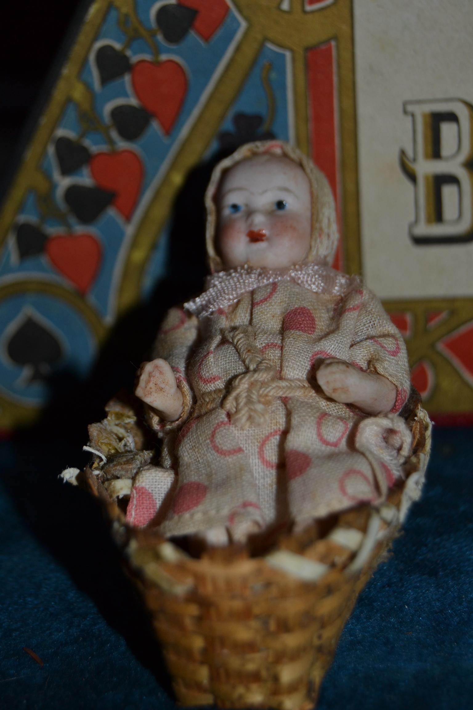 German all bisque baby 1900