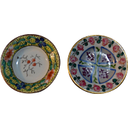 2  Limoges soup plates for little doll or doll's houses