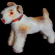 Adorable tiny flocked dog from germany