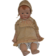 Kathe Kruse Cloth Du Mein Sand Baby with Weighted Body