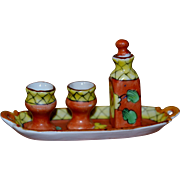 Limoges  miniature set for doll's houses
