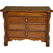 Antique chest of 3 drawers by schneegas compagny 1890/1900