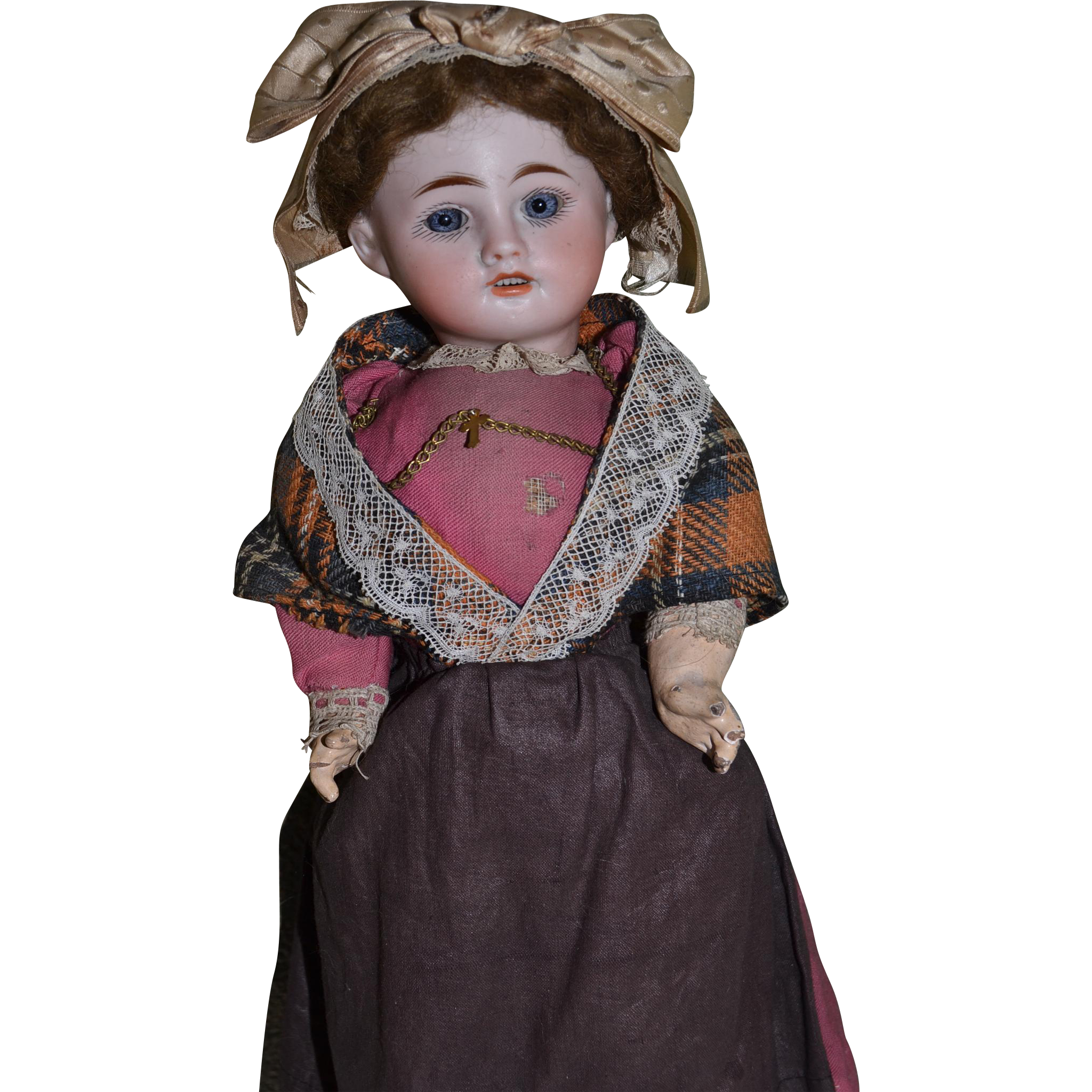 French charming auvergne doll all original