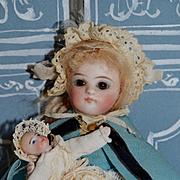 Kestner all bisque all original nurse costume