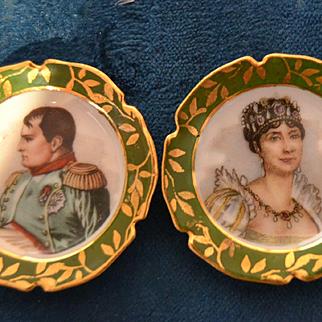 Limoges tiny plate souvenir