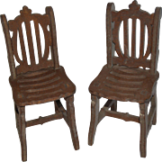 Lovely little pair of antique chair